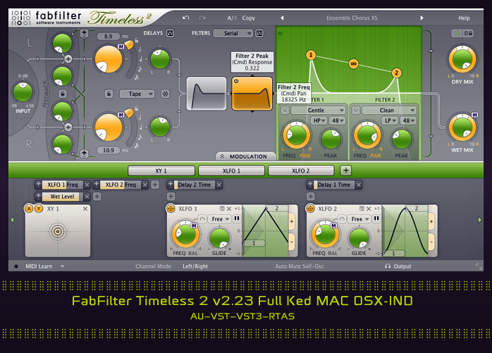 FabFilter Timeless 2 v2.23 Full Ked MAC OSX-IND