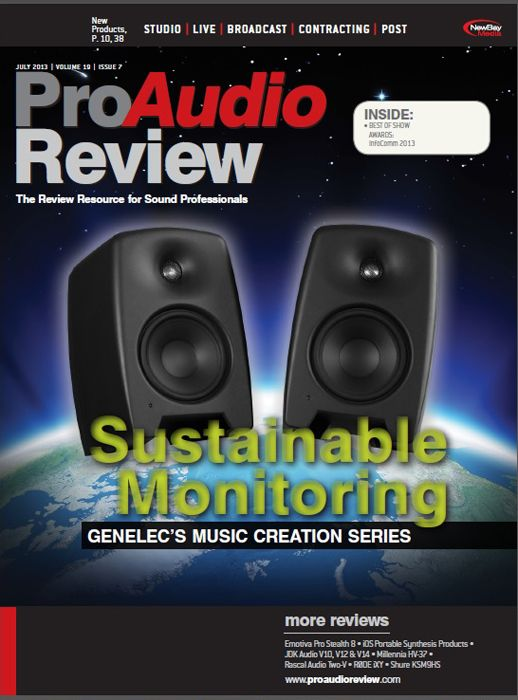 ProAudio Review - July 2013