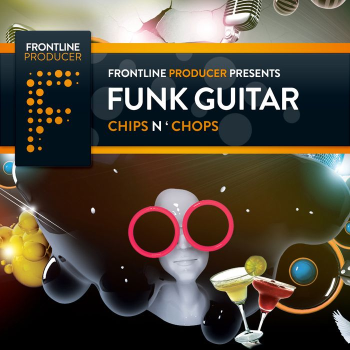 Frontline Producer Funk Guitar Chips and Chops ACiD WAV REX2-MAGNETRiXX