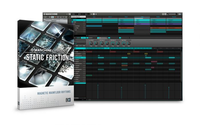Native Instruments Static Friction Maschine Expansion 1.1.0 OSX