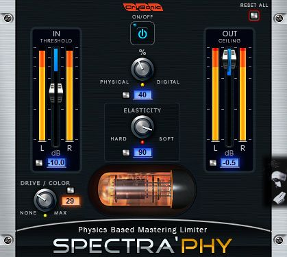 CrySonic Spectra'Phy™ LIMITER VST v1.0.0 x86 RETAIL HY2ROG3N