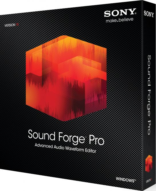 SONY Sound Forge Pro 11.0 build 234 Incl Patch-KHG