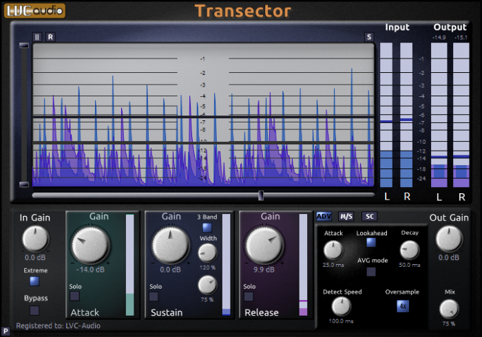 LVC-Audio Transector v1.0.0-R2R