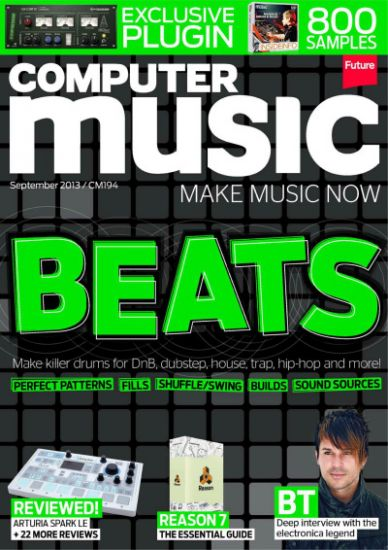 Computer Music Magazine September 2013