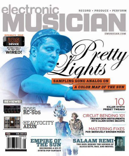 Electronic Musician - August 2013