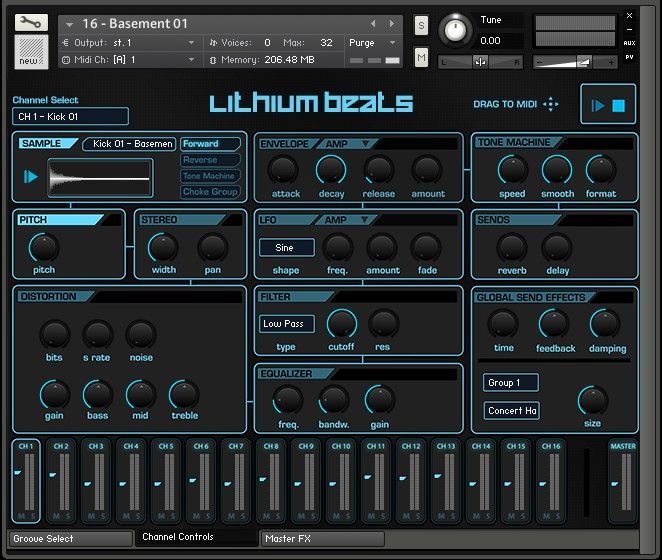 Samplephonics Lithium Beats by EVAC MULTiFORMAT-MAGNETRiXX