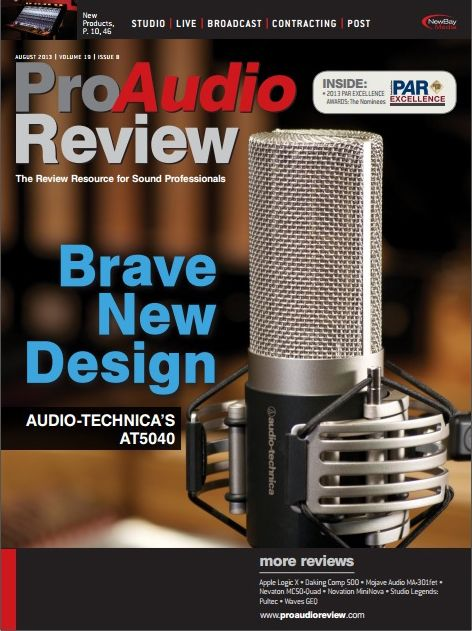 ProAudio Review - August 2013