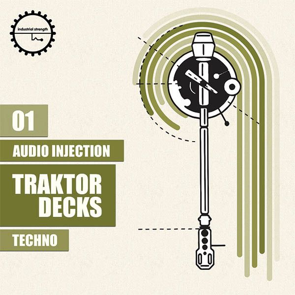 Industrial Strength Records Audio Injection Traktor Decks Techno WAV-MAGNETRiXX