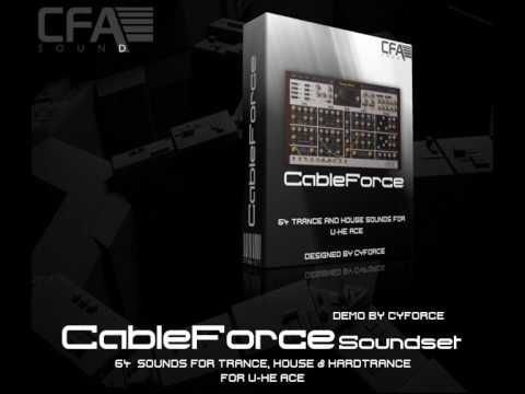 CFA Sound CableForce Presets for U-he ACE-6581