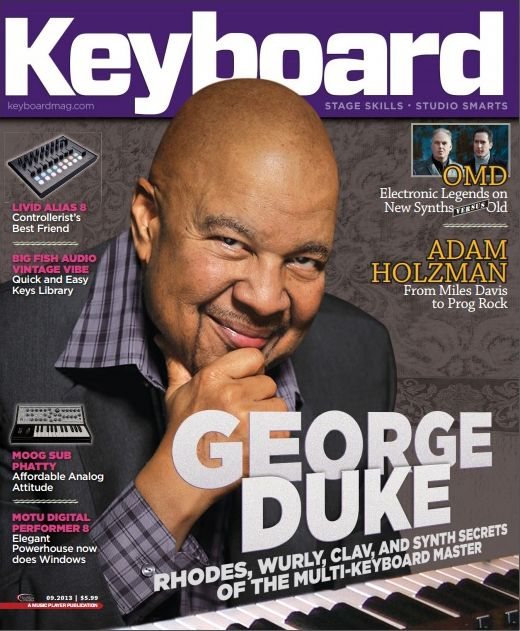 Keyboard Magazine - September 2013
