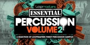 Loopmasters Presents Essentials 30 Percussion Vol.2 WAV-MAGNETRiXX