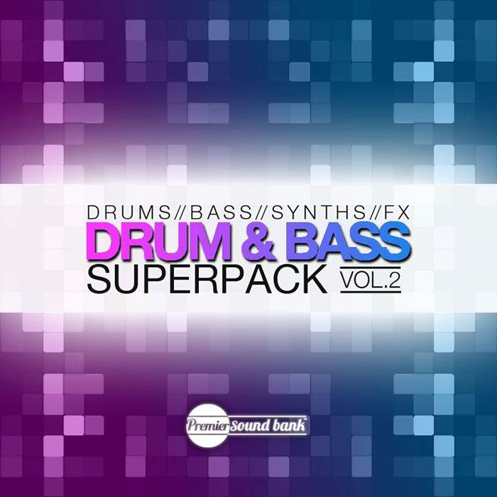 Premier Sound Bank Drum and Bass Superpack Vol.2 WAV-MAGNETRiXX