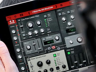 Propellerhead Thor Polysonic Synthesizer v1.0.1 iPAD