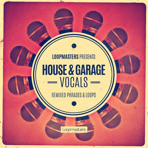 Loopmasters Presents House and Garage Vocals WAV REX2