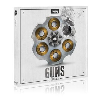 Boom Library Guns Construction Kit WAV SCD DVDR-SONiTUS
