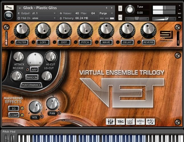 Sample Logic Virtual Ensemble Trilogy KONTAKT