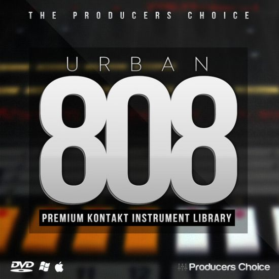 The Producers Choice: Urban 808 KONTAKT