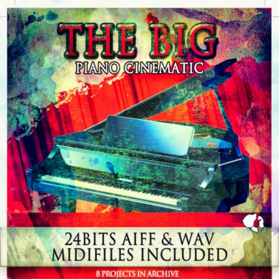 Auditory The Big Piano Cinematic WAV AiFF MiDi-MAGNETRiXX