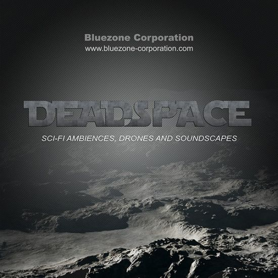 Bluezone Corporation Deadspace Sci Fi Ambiences Drones and Soundscapes WAV AiFF-MAGNETRiXX
