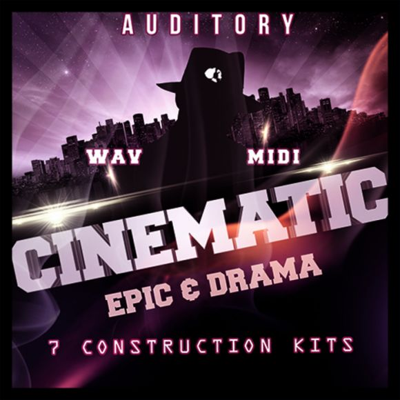 Auditory Cinematic Epic and Drama WAV MiDi-MAGNETRiXX
