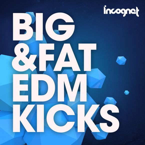 Incognet Big and Fat EDM Kicks WAV MiDi-MAGNETRiXX