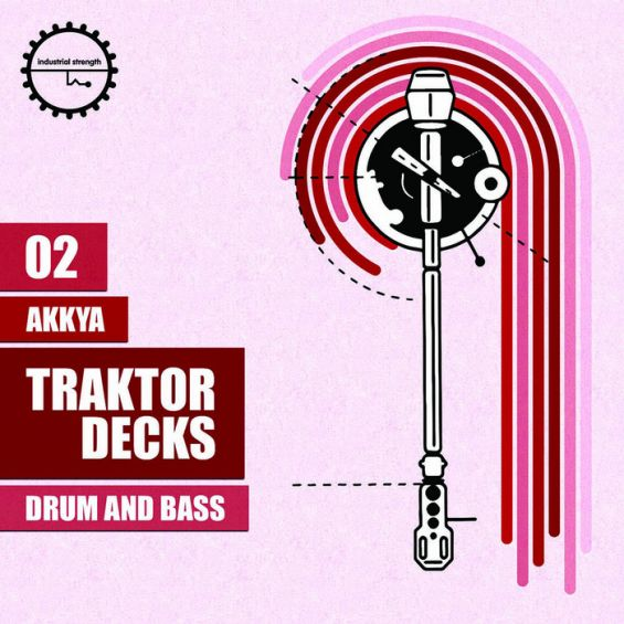 Industrial Strength Records Akkya Traktor Decks Drum and Bass WAV-MAGNETRiXX