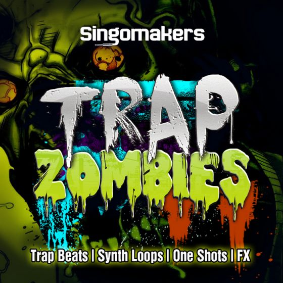 Singomakers Trap Zombies WAV REX2