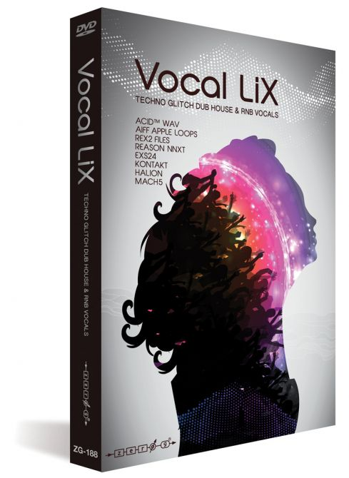 Zero-G Vocal Lix MULTiFORMAT