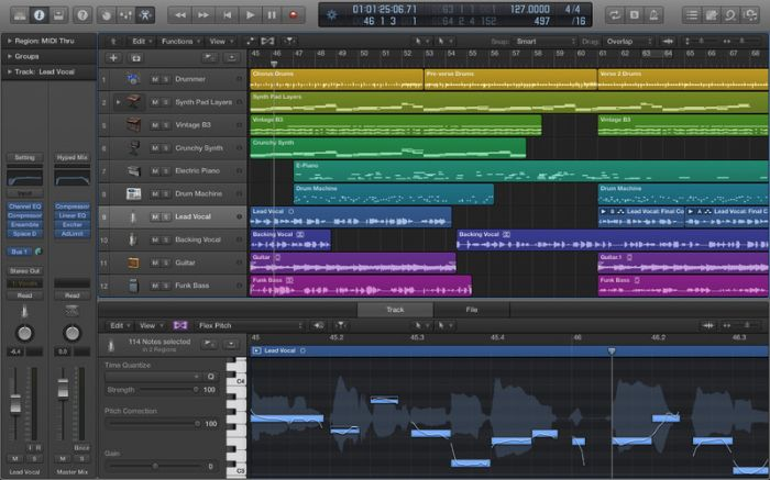 Apple Logic Pro X 10.0.3 Mac Os X
