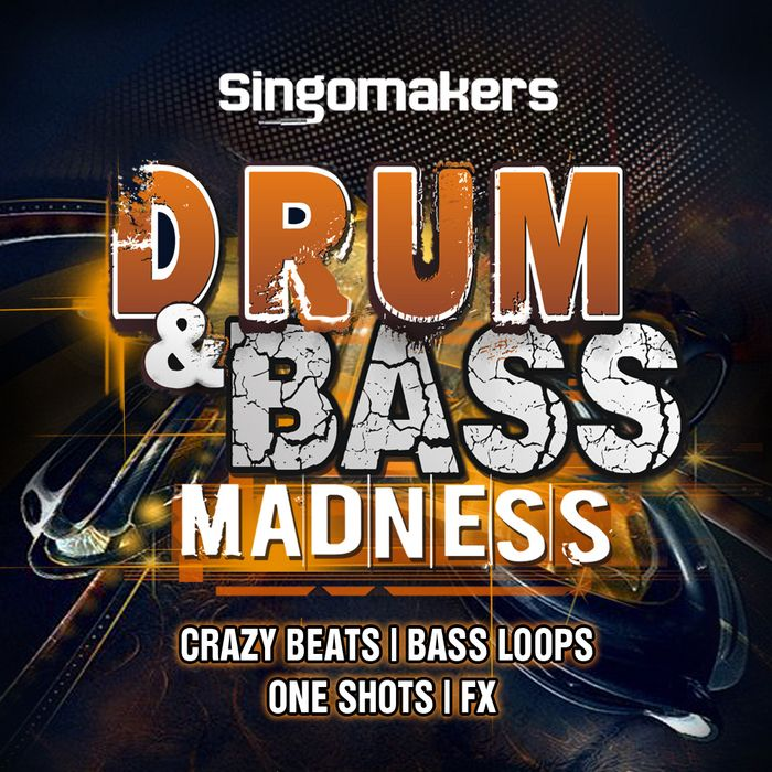 Singomakers Drum and Bass Madness WAV REX2 NI Massive Presets-MAGNETRiXX