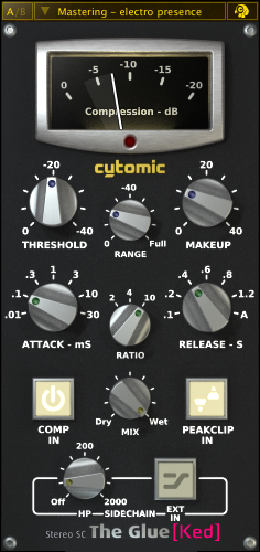 Cytomic The Glue v1.2.9 Full Ked MAC OSX-IND