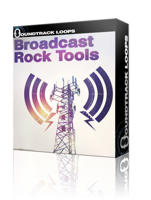 Soundtrack Loops Broadcast Rock Tools WAV AiFF-AUDIOXiMiK