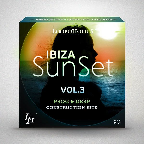 Loopoholics Ibiza Sunset Vol.3 Prog and Deep Construction Kits WAV MiDi-AUDIOXiMiK