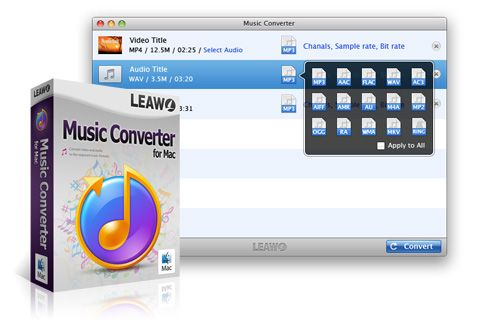 Leawo Music Converter v1.2.0 MacOSX Cracked-CORE