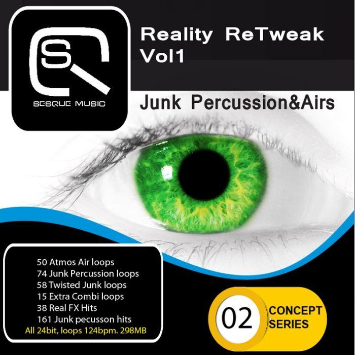 Sesque Sounds Reality ReTweak Junk Percussion and Airs WAV-MAGNETRiXX