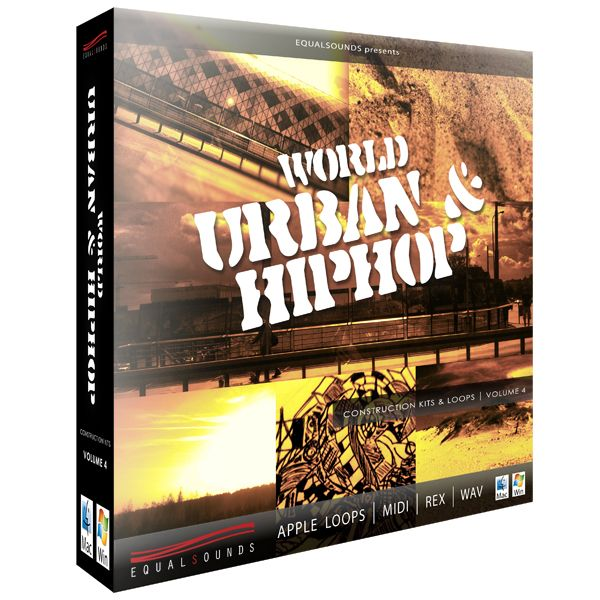 Equalsounds World Urban and HipHop Vol.4 WAV MiDi REX2 AiFF-MAGNETRiXX
