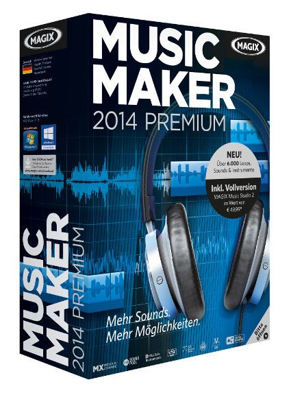 MAGIX Music Maker 2014 Premium 20.0.3.45