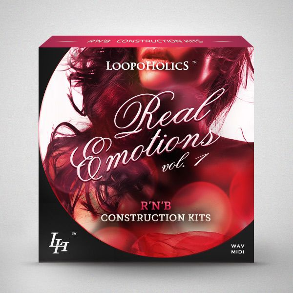 Loopoholics Real Emotions Vol.1 RnB Construction Kits WAV MiDi-MAGNETRiXX