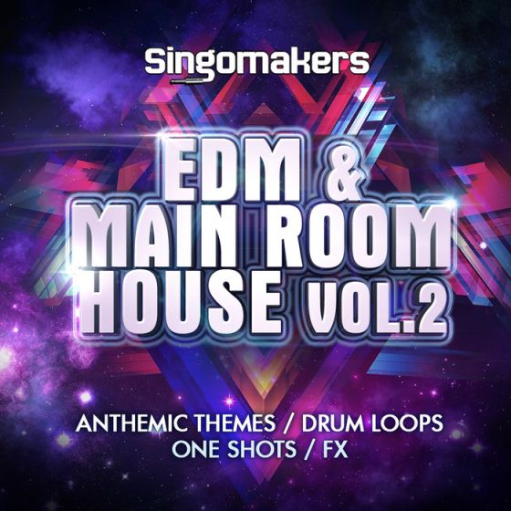 Singomakers EDM and Main Room House Vol.2 WAV MiDi REX2-MAGNETRiXX