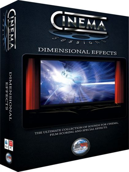 Sonic Reality Cinema Sessions Dimensional Effects KONTAKT-MAGNETRiXX