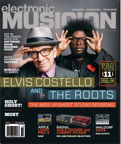 Electronic Musician - October 2013