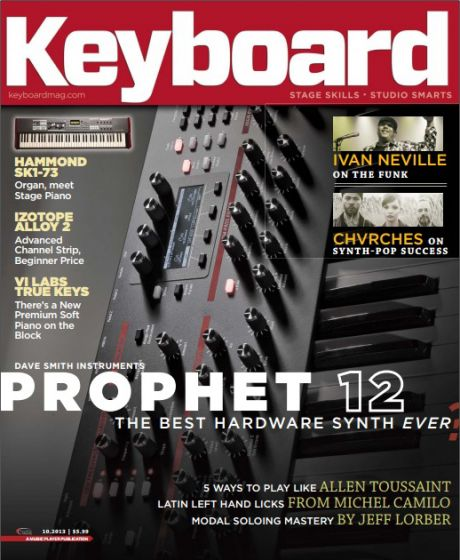 Keyboard Magazine - October 2013
