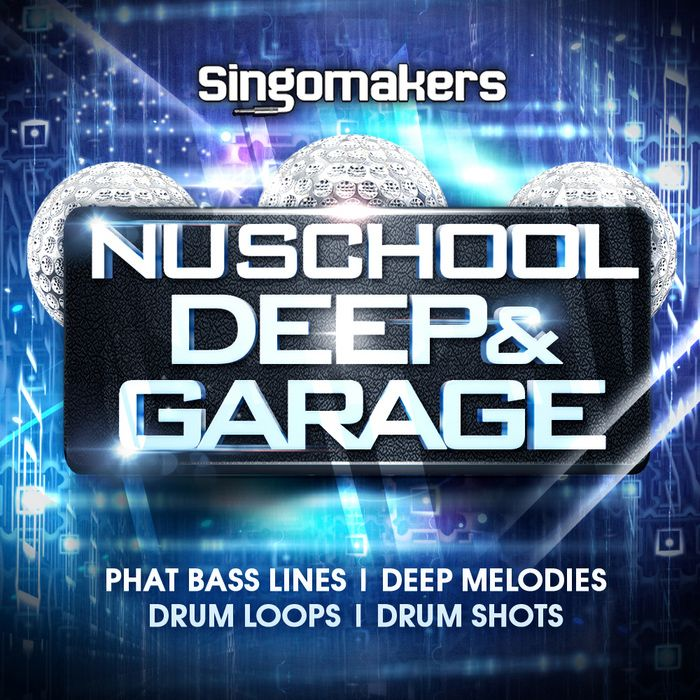 Singomakers Nu School Deep and Garage WAV REX2 MiDi-MAGNETRiXX
