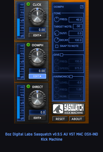 Boz Digital Labs Sasquatch v0.9.5 AU VST MAC OSX-IND