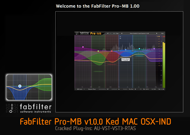 FabFilter Pro-MB v1.0.0 Ked MAC OSX-IND ( NEW! )