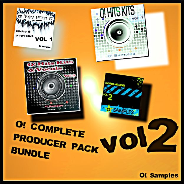 O! Samples O! Complete Producer Pack Bundle Vol.2 WAV MiDi Sylenth1 Presets-MAGNETRiXX