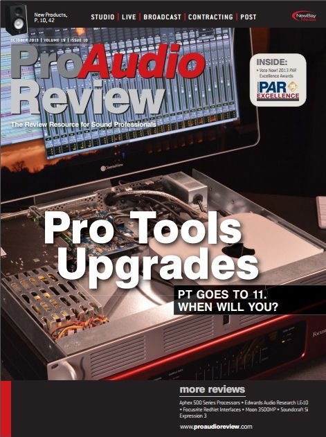 ProAudio Review - October 2013