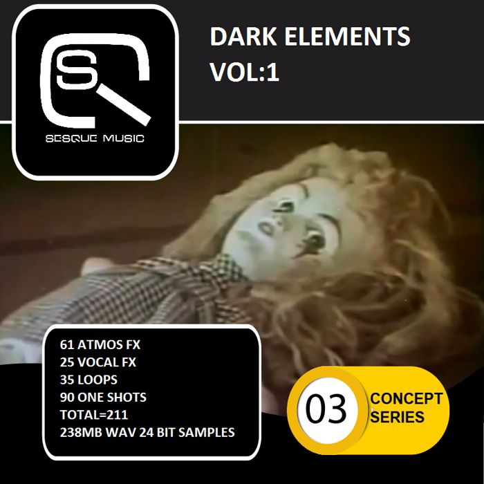 Sesque Sounds Dark Elements Vol.1 WAV-MAGNETRiXX