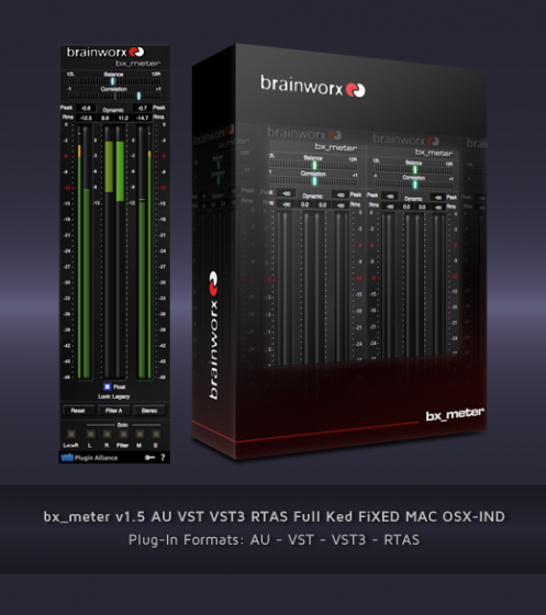 bx_meter v1.5 AU VST VST3 RTAS Full Ked FiXED MAC OSX-IND