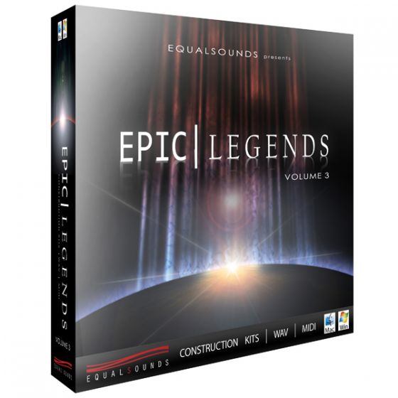 Equalsounds Epic Legends Vol.3 WAV MiDi-MAGNETRiXX